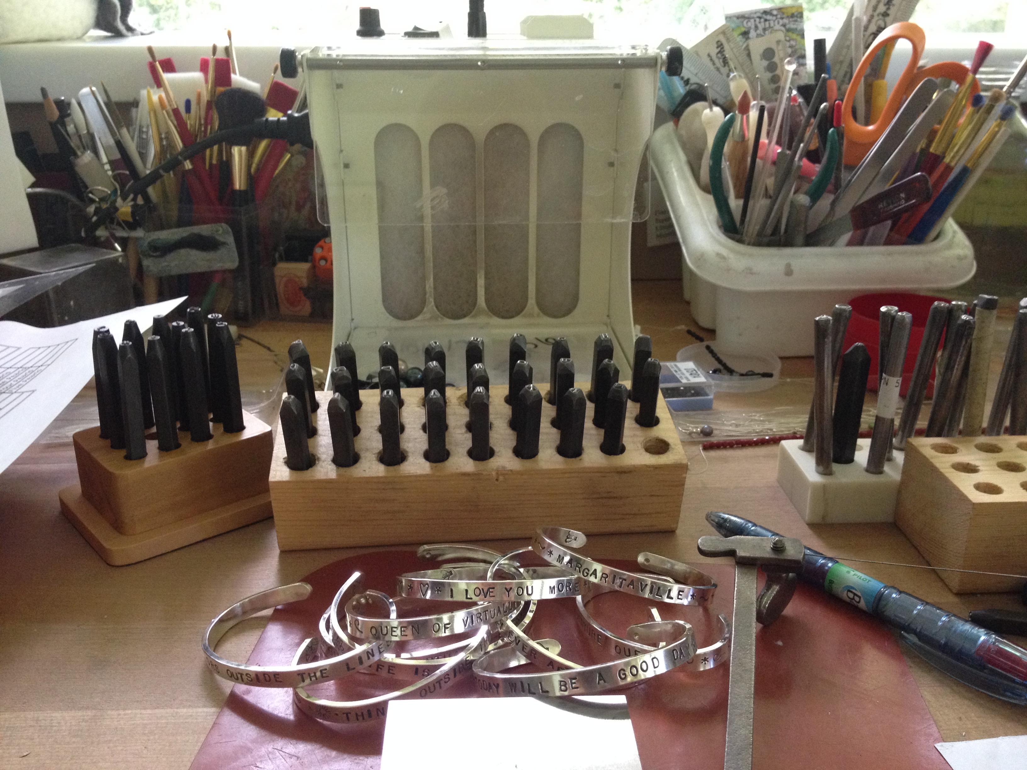 Pile of Bracelets